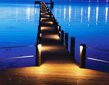 Dock Light Installation Design Southwest Fl Coastal