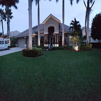 Heritage Palms Landscape Lighting