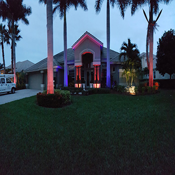 Heritage Palms Landscape Lighting