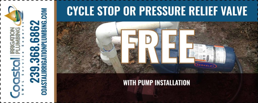 Cycle stop or pressure relief valve